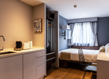Studio Apartment - 3D2N Staycation Package